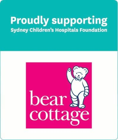 Proudly supporting Sydney Children's Hospitals Foundation