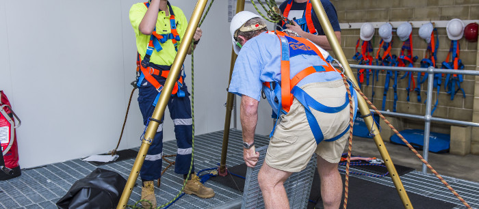 Confined Space Course Weekend Enter Amp Work Sydney