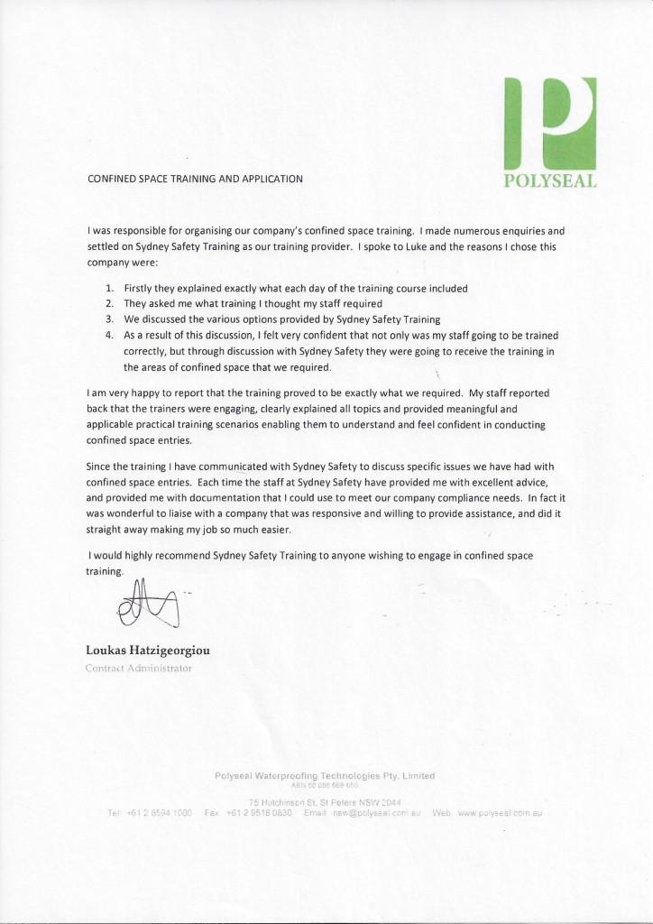 RLA Polymer Letter